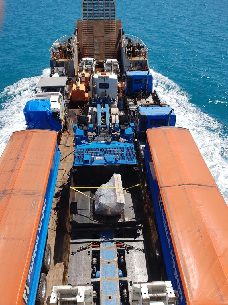 2018 Nguiu Fulton Hogan 15,000 tonne aggregate plus Machinery for Nguiu runway